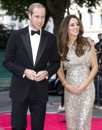 Prince William and Kate Middleton on September 12, 2013 in London