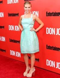 "Scarlett Johansson at the ""Don Jon"" New York premiere"