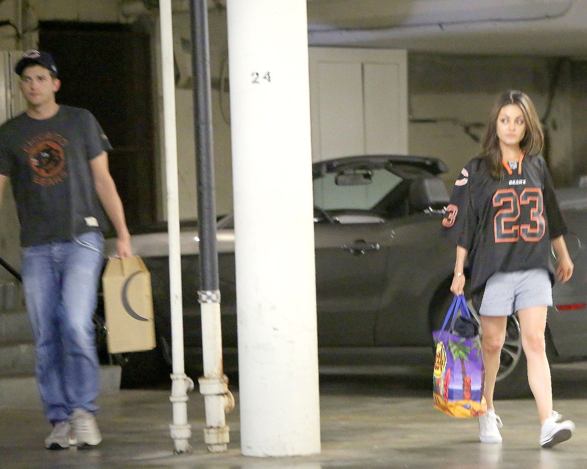 Ashton Kutcher, Mila Kunis Together Again After His Demi Moore Reunion