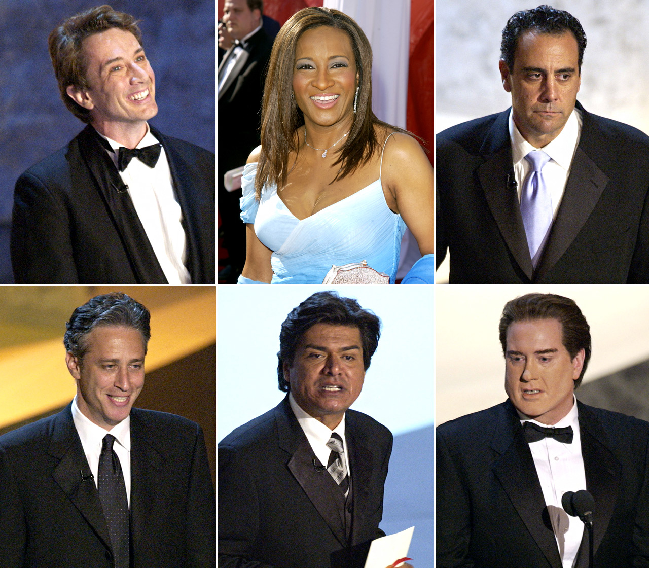 Comics unite! The group was among the 11 comedians hired to host the 2003 show, alongside Ellen DeGeneres, Conan O'Brien and Garry Shandling.