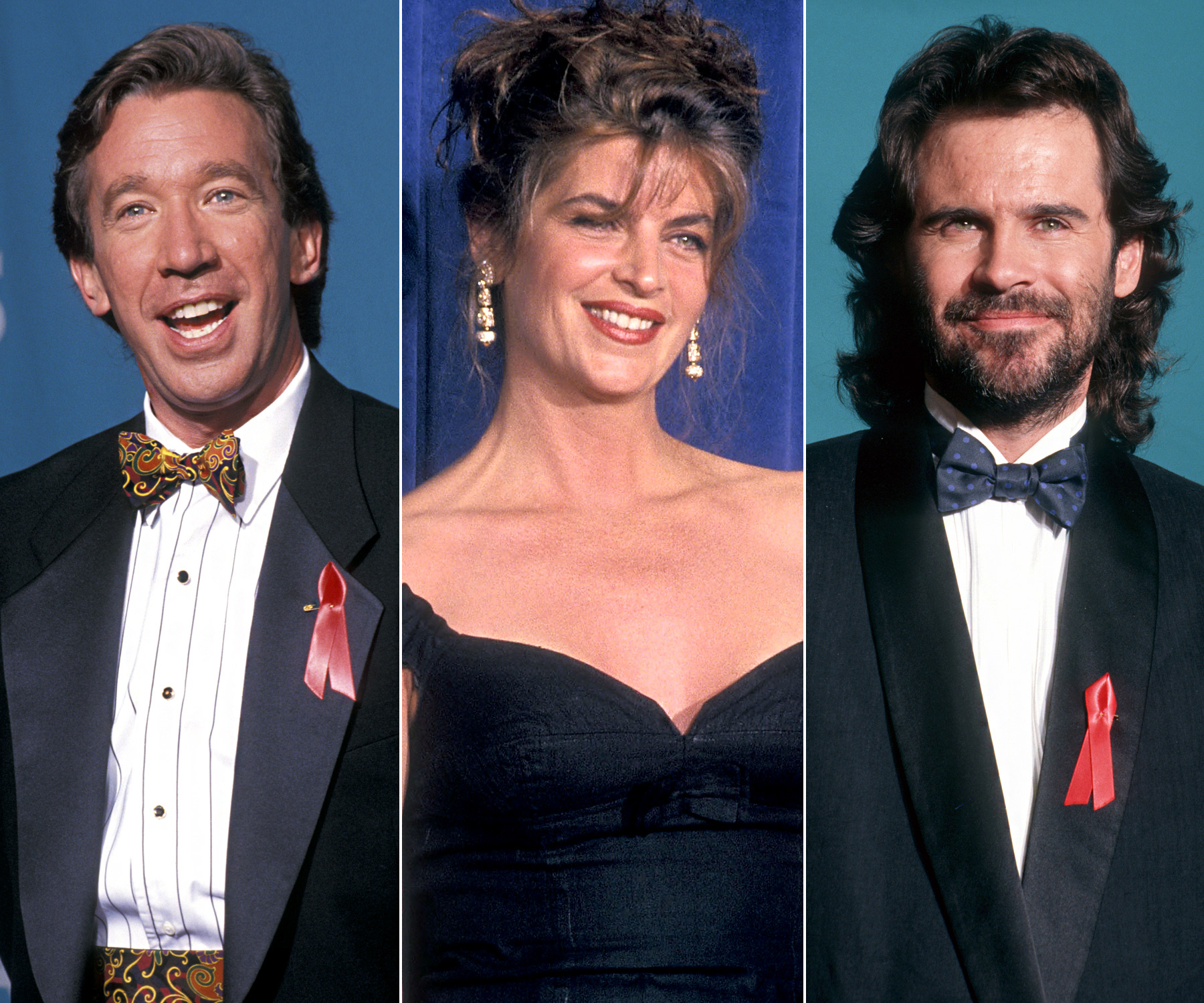Prior to his Home Improvement wife Patricia Richardson's turn at the Emmys, Allen hosted in 1992 alongside Alley (then in her Cheers heyday) and Miller, who had hosted the show the year prior.