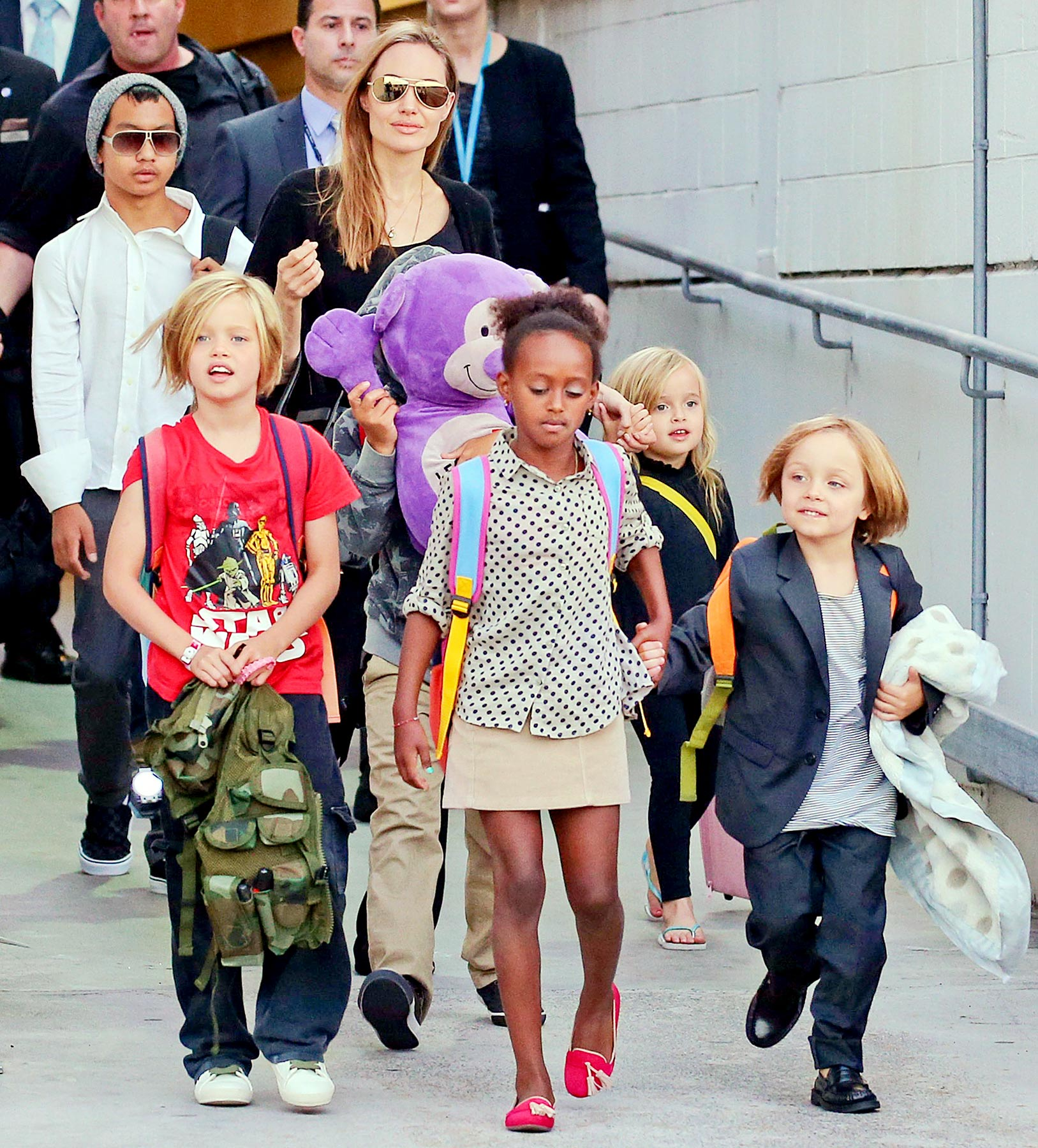 As the most famous couple of Hollywood is raising their children