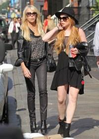 Lindsay Lohan, Dina Lohan, Ali Lohan