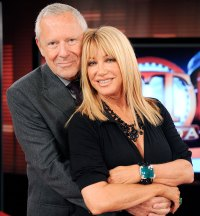 Alan Hamel and Suzanne Somers