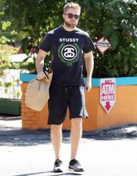 Robert Pattinson on October 15, 2013 in Hollywood, California
