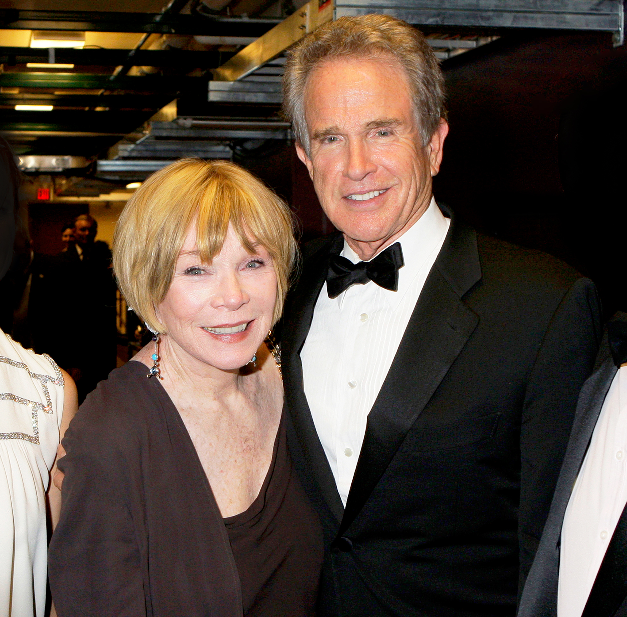 Shirley MacLaine and Warren Beatty