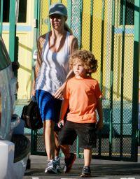 Kendra Wilkinson and Hank Baskett Jr on October 22, 2013