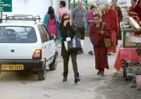 Demi Moore seen in McLeod Ganj on October 28, 2013.