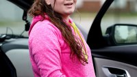 Amber Portwood in Anderson, Indiana after being released from prison