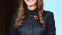 Kate Middleton on Remembrance Sunday on November 10, 2013