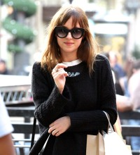 Dakota Johnson shopping together at The Grove in West Hollywood