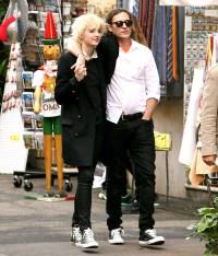 Joaquin Phoenix and girlfriend, Allie Teilz, tour Rome on November 9,