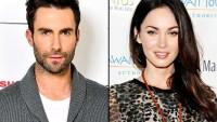 Adam Levine and Megan Fox
