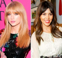 Taylor Swift; Kourtney Kardashian