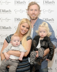 Jessica Simpson, Eric Johnson, Maxwell and Ace