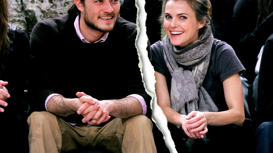 Keri Russell and Shane Dreary at Madison Square Garden on Dec 10, 2007