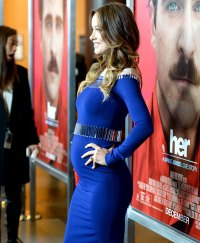 Olivia Wilde at the premiere of Her on Dec 13, 2013