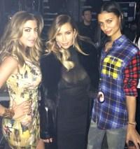 Kim Kardashian, Larsa Pippen and Kristen Noel Gipson