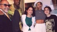 Jay Z, Beyonce, and Gloria Estefan