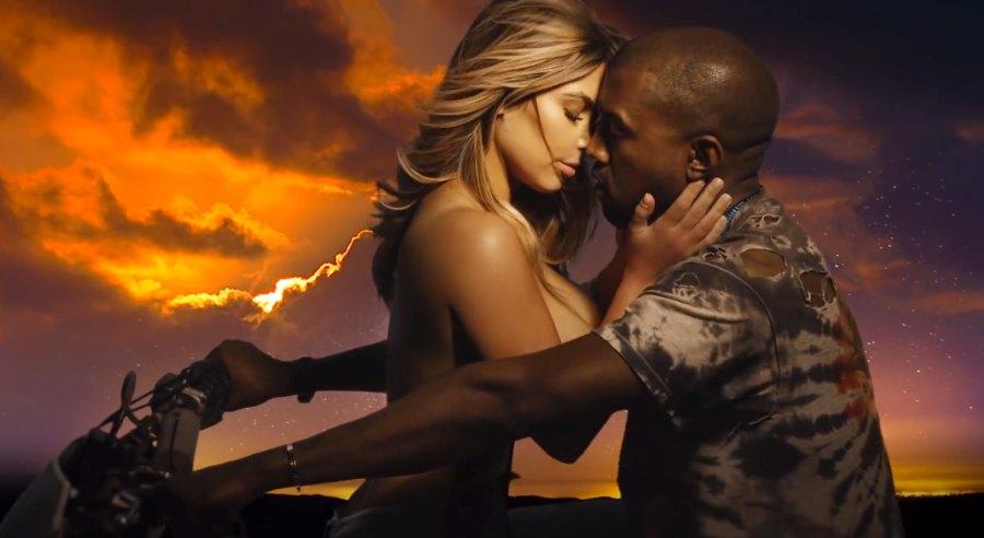 Kim Kardashian Kanye West Bound 2