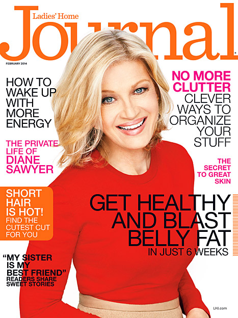 diane sawyer ladies home journal