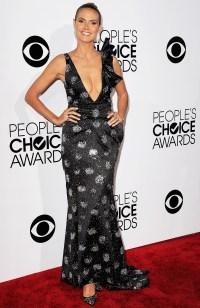 Heidi Klum attends The People's Choice Awards on January 8, 2014