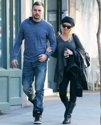 Christina Aguilera and Matthew Rutler