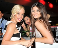 Kendra Wilkinson, Kris Jenner and Kylie Jenner