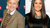 Ellen DeGeneres and Catherine Giudici