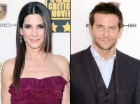 Sandra Bullock and Bradley Cooper at the 2014 Critics Choice Awards