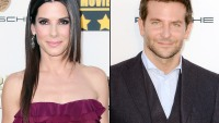 Sandra Bullock and Bradley Cooper at the 2014 Critics Choice Awards