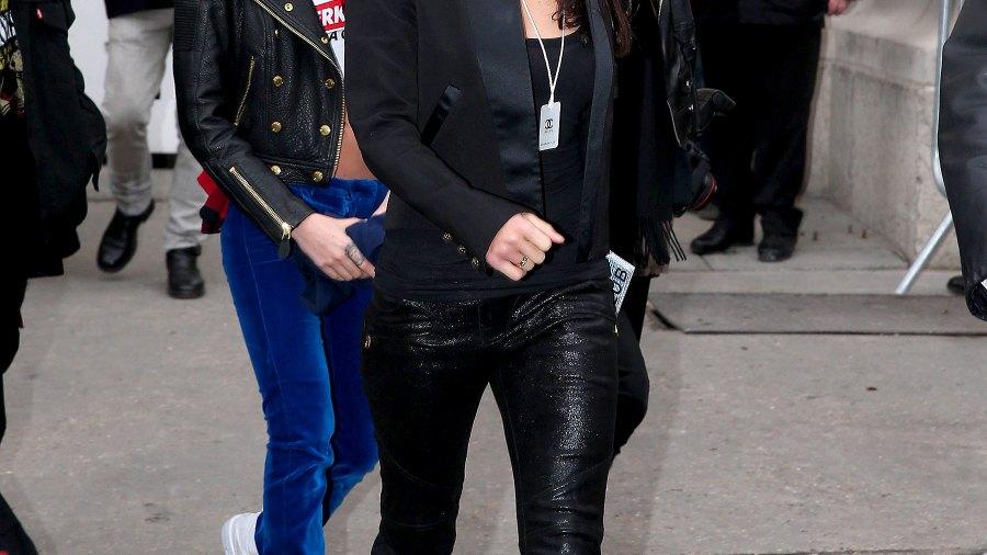 Cara Delevingne and Michelle Rodriguez in Paris