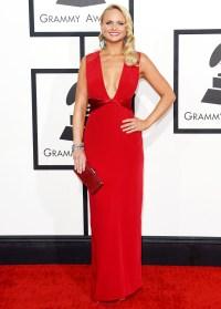 Miranda Lambert at the Grammy Awards on January 26, 2014