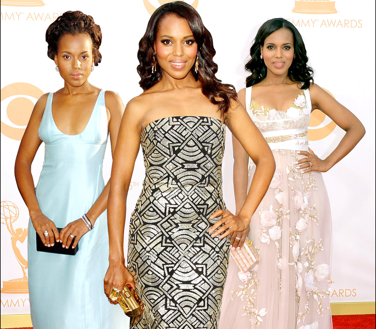Happy Birthday, Kerry Washington ! The actress turns 42 on Thursday, January 31, and we're celebrating by taking a look back at her red carpet style evolution.