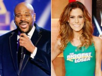 Ruben Studdard and Rachel Frederickson on The Biggest Loser Finale