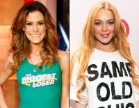 Rachel Frederickson and Lindsay Lohan