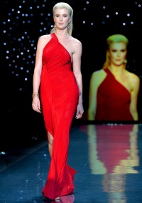 Ireland Baldwin at the Heart Truth Red Dress Collection