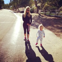 Jessica Simpson and Maxwell Johnson in an instagram photo
