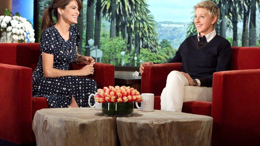 """Eva Mendes on """"The Ellen DeGeneres Show"""" on Feb. 12, 2014"""