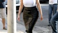 Kim Kardashian goes shopping for her daughter North at Bel Bambini
