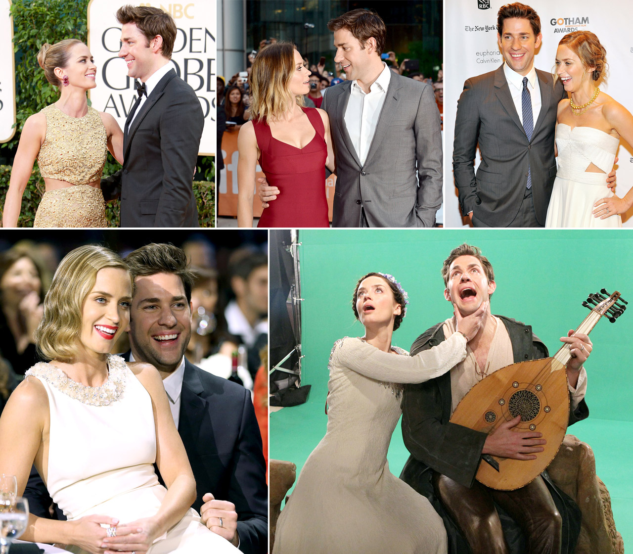 John Krasinski Emily Blunt Wedding.Emily Blunt And John Krasinski S Relationship Timeline Photos