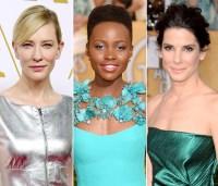 Cate Blanchett, Lupita Nyong'o and Sandra Bullock
