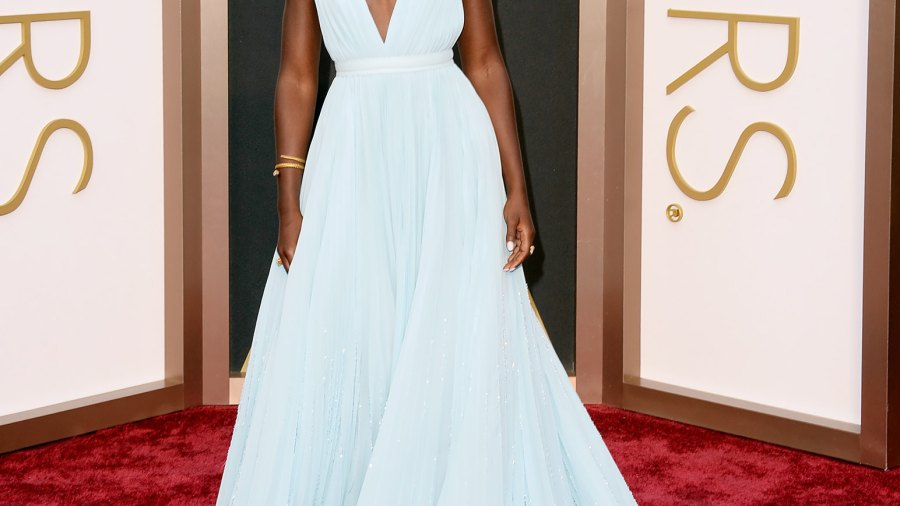 Lupita Nyong'o attends the 2014 Academy Awards