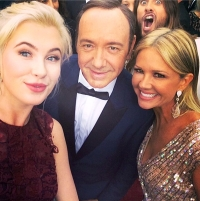 Ireland Baldwin, Kevin Spacey, Jared Leto and Nancy O'Dell