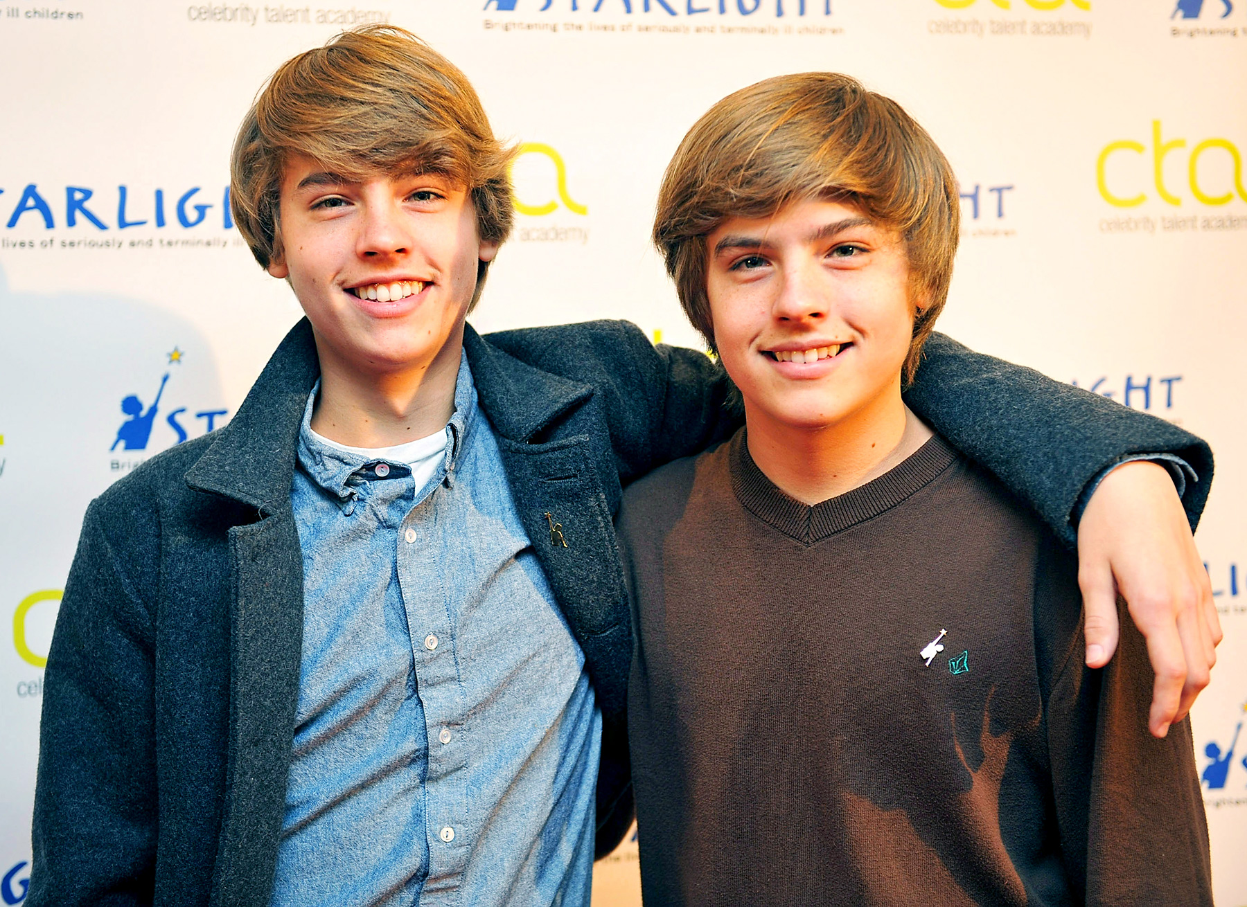 These twin brothers first made it big when they starred opposite Adam Sandler in 1999 hit comedy Big Daddy. The identical twins went on to star on Disney Channel's Suite Life of Zach & Cody and spinoff Suite Life on Deck from 2005 to 2011.