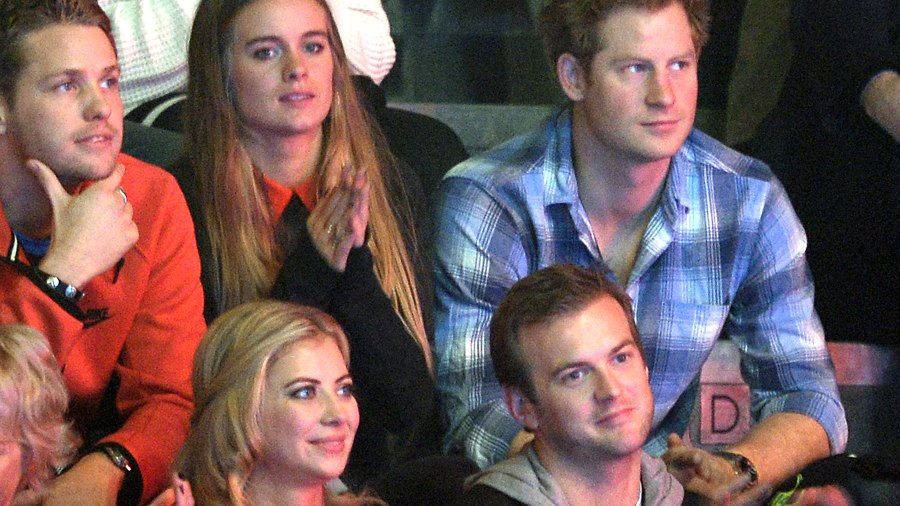 Cressida Bonas and Prince Harry attend We Day UK on March 7, 2014