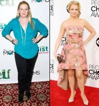 Melissa Joan Hart on November 13, 2012 and on January 8, 2014