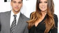 Rob Kardashian and Khloe Kardashian on April 30, 2012 in New York City