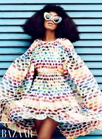 Solange Knowles in Harper's Bazaar