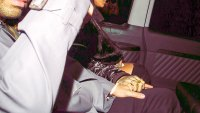 Rihanna and Drake hold hands in London